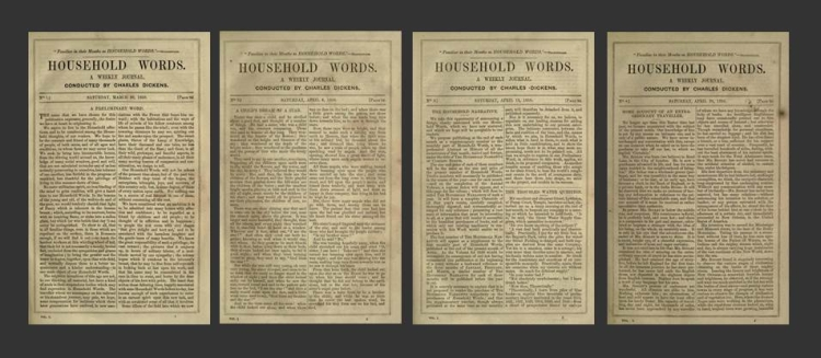 First four issues of Household Words